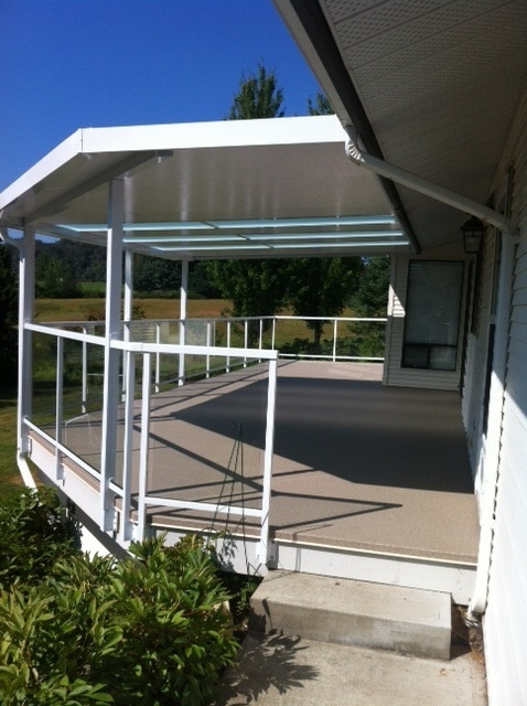 Partially Covered Sundeck